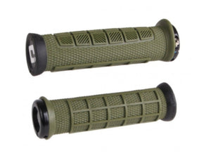 ODI Elite Pro Lock-On Grips - The Lost Co. - ODI - D33EPAG-B - 711484192593 - Army Green -