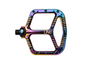 OneUp Components Aluminum Pedals - The Lost Co. - OneUp Components - 1C0380OIL - 052462821945 - Oil Slick -