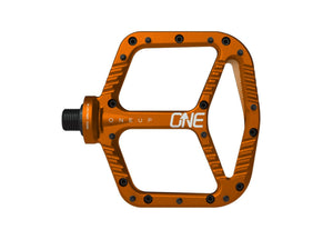 OneUp Components Aluminum Pedals - The Lost Co. - OneUp Components - 1C0380ORA - 029962821942 - Orange -