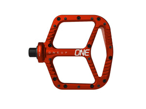 OneUp Components Aluminum Pedals - The Lost Co. - OneUp Components - 1C0380RED - 027362821944 - Red -