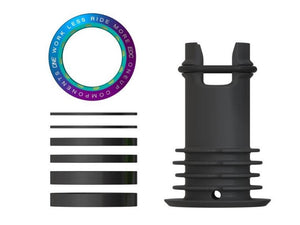 OneUp Components EDC Top Cap - The Lost Co. - OneUp Components - 1C0414OIL - 052062821949 - Oil Slick -