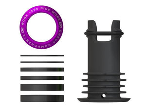 OneUp Components EDC Top Cap - The Lost Co. - OneUp Components - 1C0414PUR - 026862821942 - Purple -