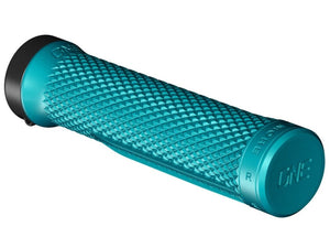 OneUp Components Lock-On Grips - The Lost Co. - OneUp Components - 1C0623TUR - 043262821945 - Turquoise -