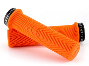 PNW Components Loam Grips - The Lost Co. - PNW Components - LGA25OB - 850005672463 - Safety Orange -