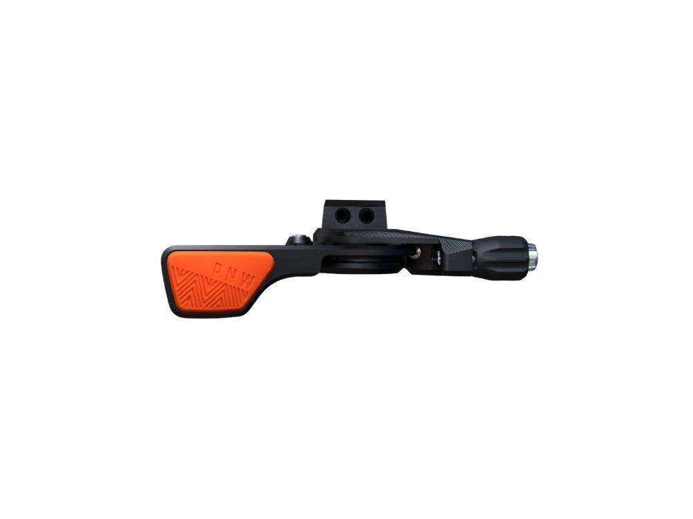 PNW Components Loam Lever - The Lost Co. - PNW Components - LLBOS - 810035870260 - Safety Orange - 22.2mm Bar Clamp