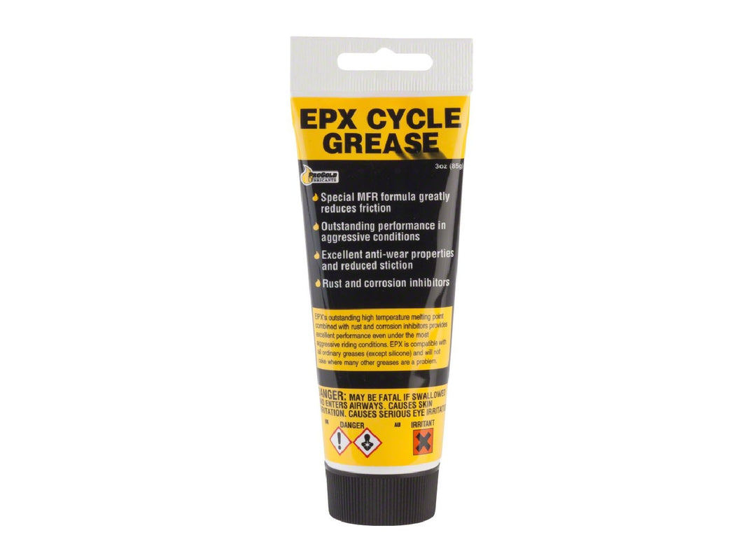 Progold EPX Grease Tube - The Lost Co. - ProGold - 667403PP - 711808207484 - 3 oz -