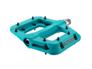 Race Face Chester Composite Pedals - The Lost Co. - RaceFace - PD20CHETUQ - 821973353623 - Turquoise -