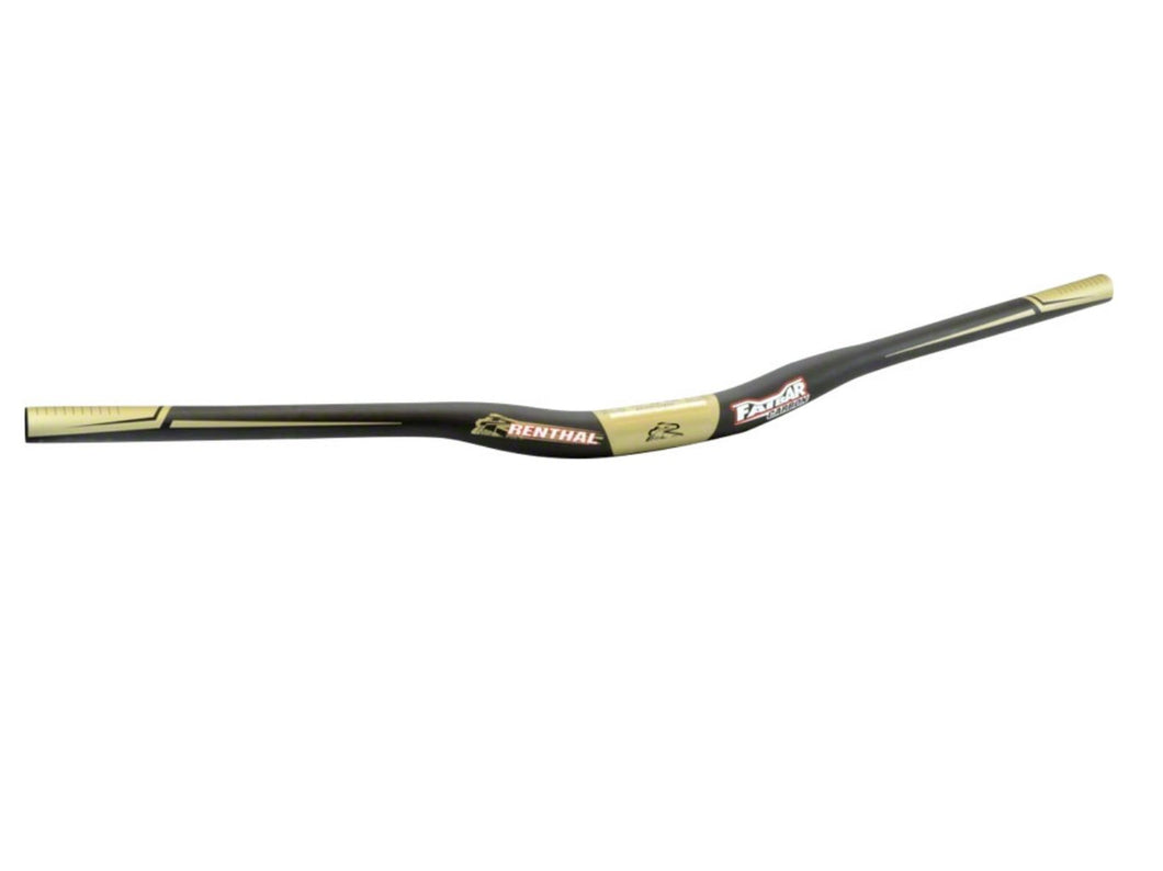 Renthal Fatbar Carbon V2 - The Lost Co. - Renthal - M171-01-BK - 765442154864 - 10mm -