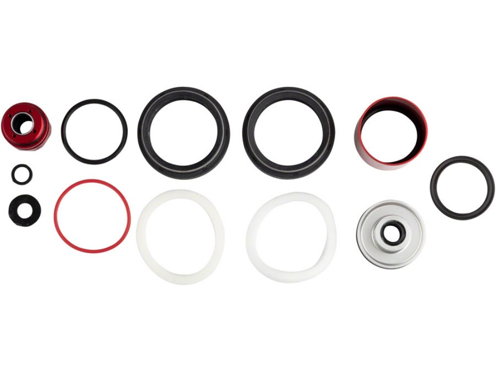 RockShox Fork Service Kit - 200 Hour/1 Year, Charger 2, 38mm, ZEB Select / Ultimate, Silver Sealhead, A1 - The Lost Co. - RockShox - 00.4318.025.186 - 710845862458 - -