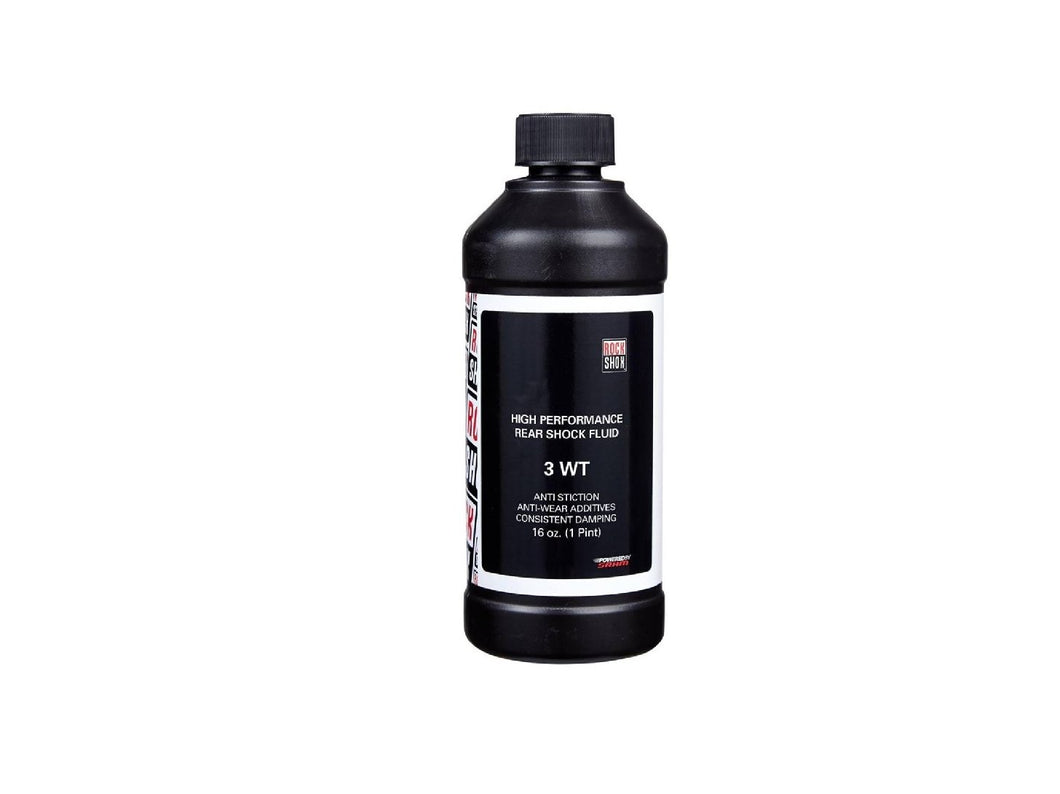 RockShox Suspension Oil 16oz Bottle - The Lost Co. - RockShox - 11.4315.004.020 - 710845604508 - 3wt -