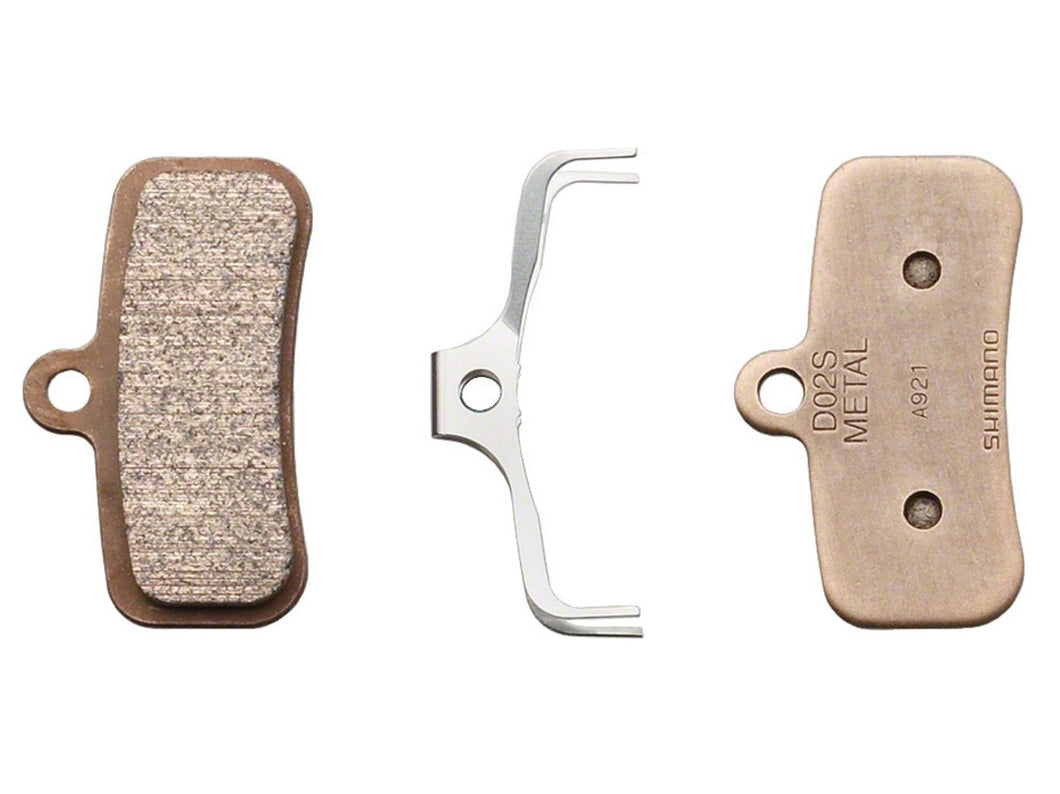 Shimano D02S Brake Pads for Newer Saint & Zee (Metallic) - The Lost Co. - Shimano - Y8FF98010 - 689228276468 - Default Title -