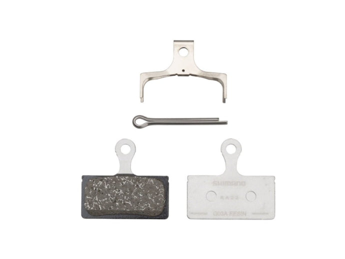 Shimano G03A Disc Brake Pads - Resin - The Lost Co. - Shimano - Y8LV98010 - 192790446127 - Default Title -