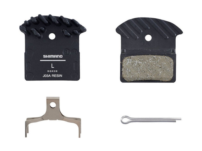Shimano J03A Resin Disc Brake Pad - Fits XTR / Deore XT / SLX / Alfine - The Lost Co. - Shimano - Y8Z298010 - 192790452371 - Default Title -
