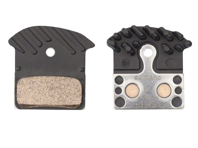 Shimano J04C Disc Brake Pads (Metallic w/ Fins) - The Lost Co. - Shimano - Y8LW98030 - 689228919600 - Default Title -