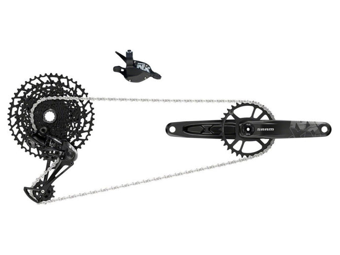 SRAM NX Eagle DUB Groupset - The Lost Co. - SRAM - 00.7918.076.000 - 710845820472 - Non-Boost - 170mm