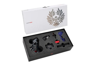 SRAM X01 Eagle AXS Upgrade Kit - The Lost Co. - SRAM - 00.7918.099.000 - 710845853401 - 10-52t, Lunar Black -