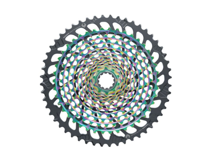 SRAM XX1 Eagle 10-52t XG-1299 Cassette - Rainbow - The Lost Co. - SRAM - 00.2418.107.002 - 710845853098 - Default Title -