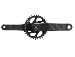 SRAM XX1 Eagle DUB SL Crankset - The Lost Co. - SRAM - 00.6118.526.005 - 710845813603 - 170mm - Black/Black