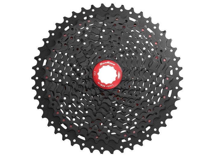 SunRace MX8 11spd Cassette - The Lost Co. - SunRace - CSMX8.EAYR.OS1.BX - 4710944248227 - 11-42 - Black
