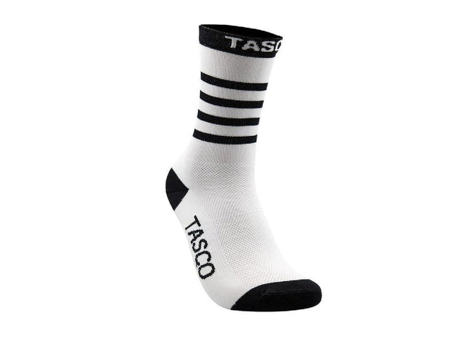 Tasco Double Digits Socks - The Lost Co. - Tasco MTB - DDSWTST13 - L/XL - White Sections