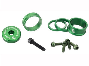 Wolf Tooth Anodized Bling Kit - The Lost Co. - Wolf Tooth Components - BLINGKIT_Green - 812719025119 - Green -