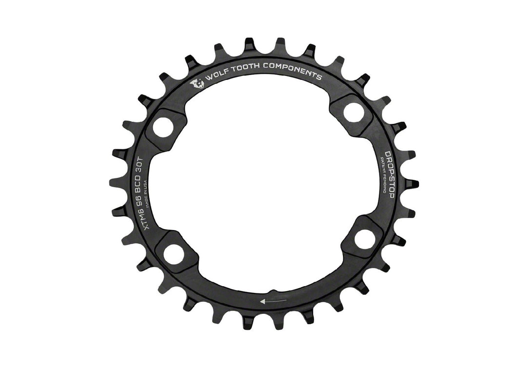 Wolf Tooth Components Drop Stop Chainring for XT8000 Cranksets - The Lost Co. - Wolf Tooth Components - XTM8K9630 - 812719021876 - 30t -