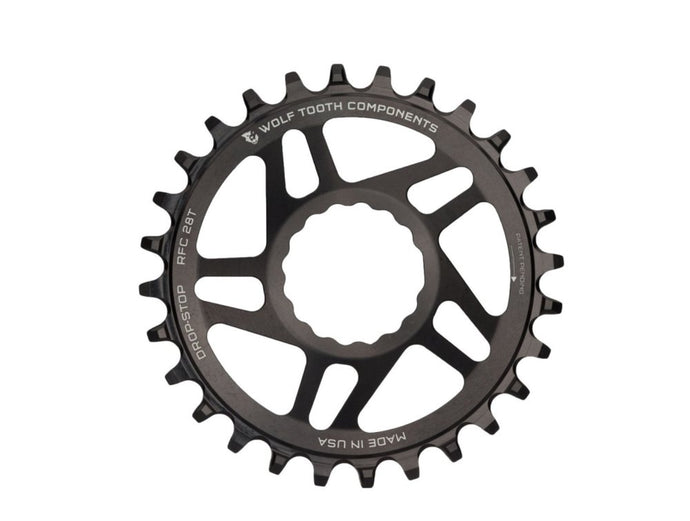 Wolf Tooth Components Drop Stop Direct Mount Boost Chainring for RaceFace - The Lost Co. - Wolf Tooth Components - RFC28-BST - 812719025478 - 28t -