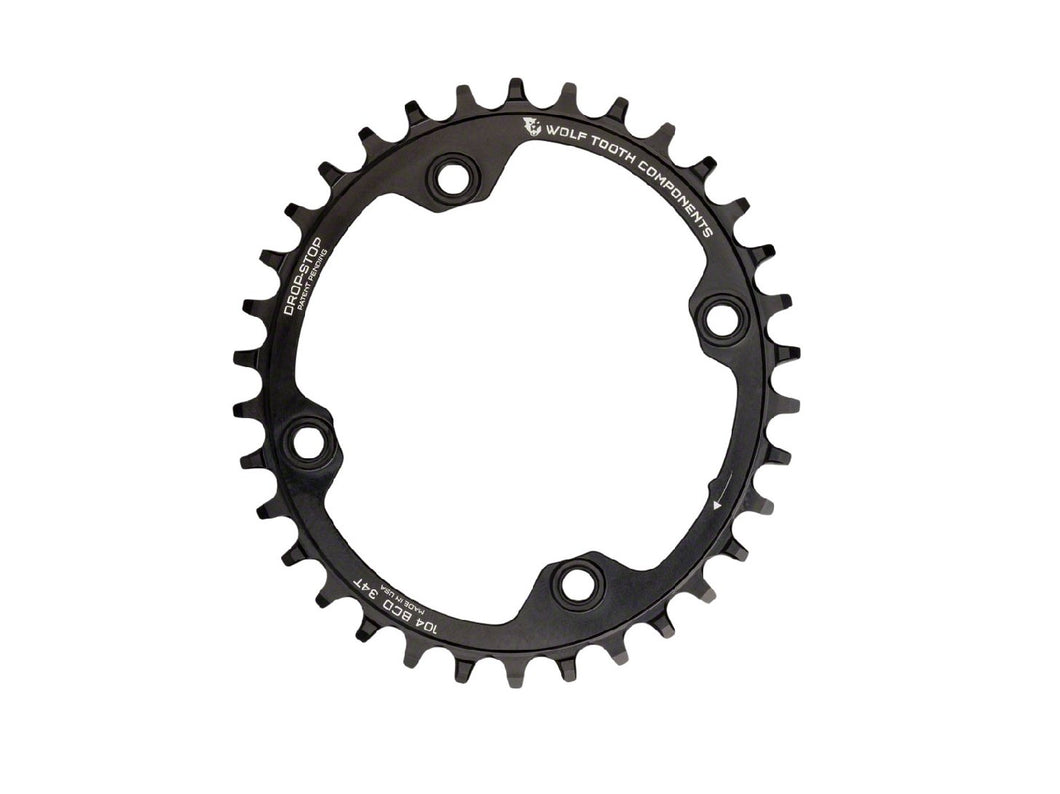 Wolf Tooth Components Elliptical 104BCD Chainring - The Lost Co. - Wolf Tooth Components - OVAL10432 - 812719021548 - 32t -