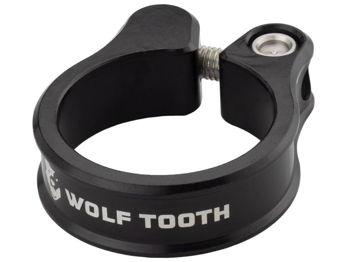 Wolf Tooth Components Seatpost Clamp - The Lost Co. - Wolf Tooth Components - SC-35-BLK - 810006800166 - Black - 34.9mm