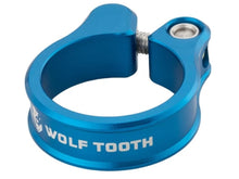 Load image into Gallery viewer, Wolf Tooth Components Seatpost Clamp - The Lost Co. - Wolf Tooth Components - SC-35-BLU - 810006800180 - Blue - 34.9mm