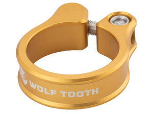 Wolf Tooth Components Seatpost Clamp - The Lost Co. - Wolf Tooth Components - SC-35-GLD - 810006800227 - Gold - 34.9mm