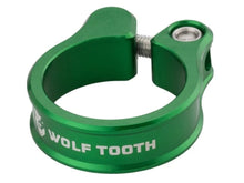 Load image into Gallery viewer, Wolf Tooth Components Seatpost Clamp - The Lost Co. - Wolf Tooth Components - SC-35-GRN - 810006800197 - Green - 34.9mm