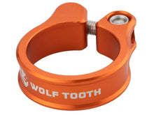 Load image into Gallery viewer, Wolf Tooth Components Seatpost Clamp - The Lost Co. - Wolf Tooth Components - SC-35-ORG - 810006800210 - Orange - 34.9mm