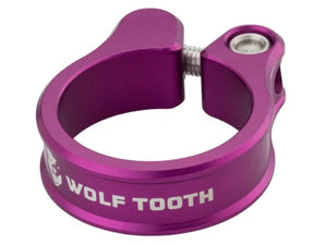 Wolf Tooth Components Seatpost Clamp - The Lost Co. - Wolf Tooth Components - SC-35-PRP - 810006800203 - Purple - 34.9mm