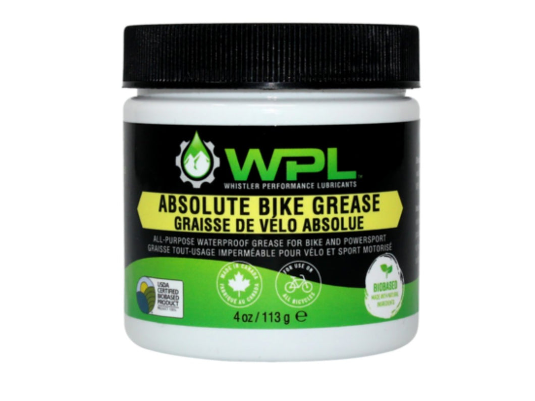 WPL Absolute Bike Grease - The Lost Co. - Whistler Performance Lubricants - WB-ABG-113-03 - 628250704037 - 4oz -