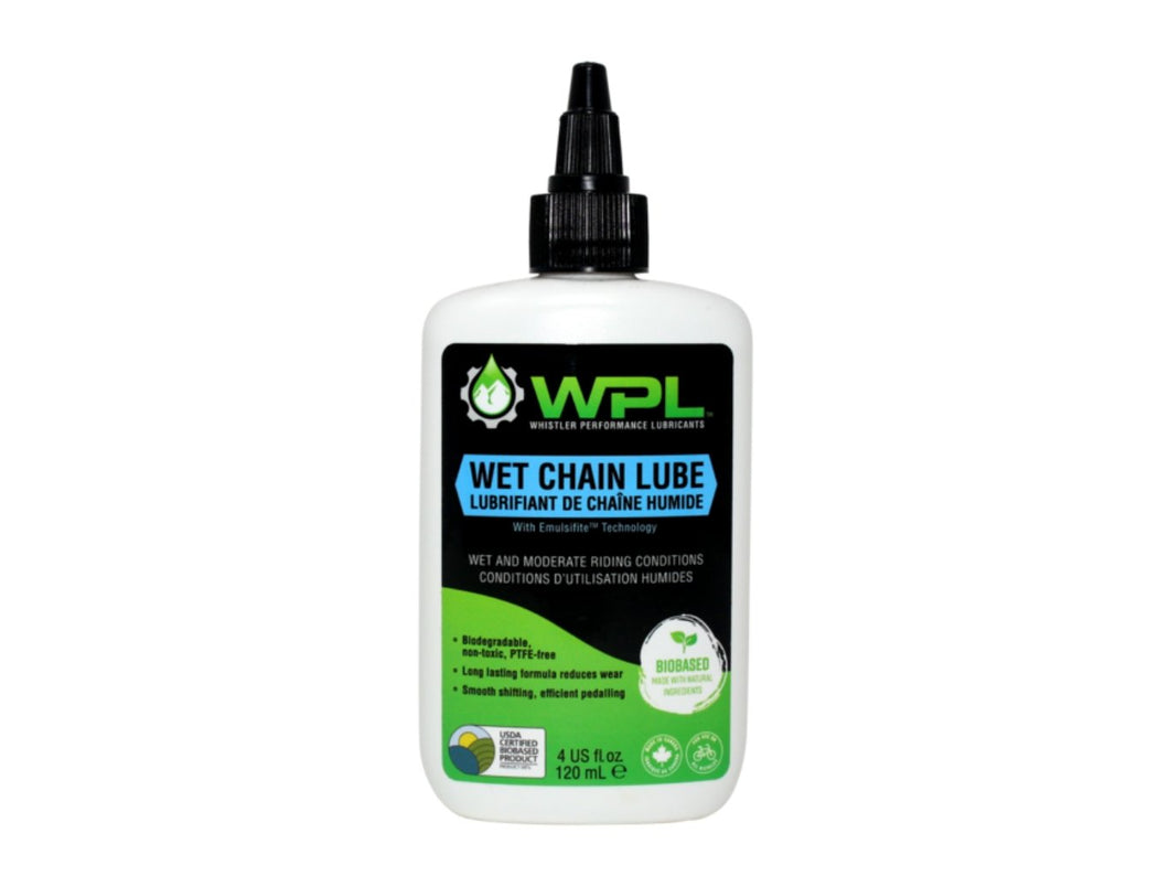 WPL Wet Chain Lube - 4oz - The Lost Co. - Whistler Performance Lubricants - WB-WCL-120-01 - 628250704013 - Default Title -