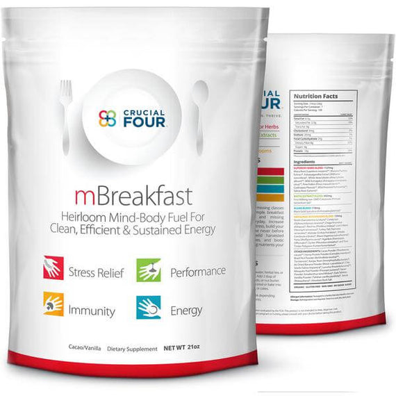 mBreakfast Organic Superfood Powder (2-pack)