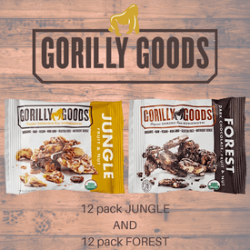 Gorilly Goods (2-pack) Forest & Jungle Variety