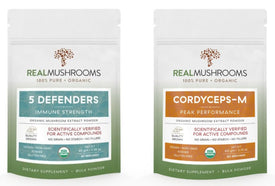 Real Mushroom Extracts - 5 Defenders & Cordyceps