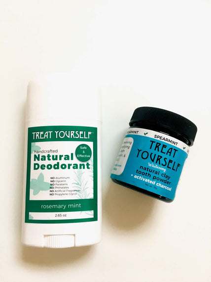 Natural Deodorant & Toothpowder by Treat Yourself Inc.