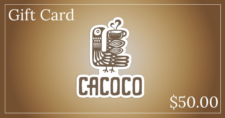 Drink Cacoco - $50.00 Gift Card
