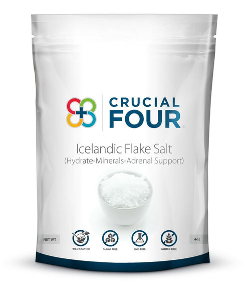 Icelandic Flake Salt by Crucial FOUR (2-Pack) - Shop Ritzfit