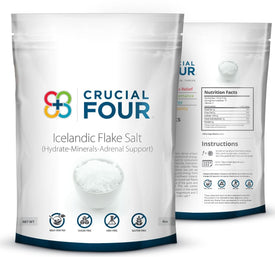 Icelandic Flake Salt by Crucial FOUR (2-Pack)