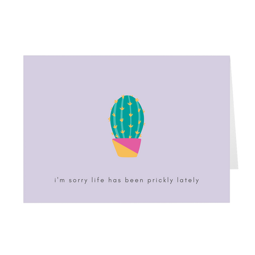 Prickly Card