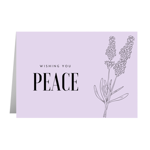 Peace Flower Cards