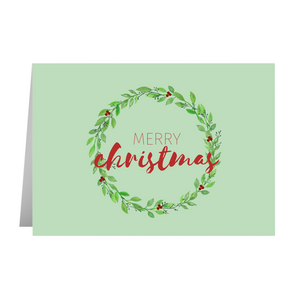Merry Christmas Card - Quick Ship