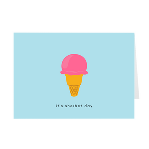 Sherbet Birthday Cards