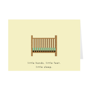 Little Sleep Card