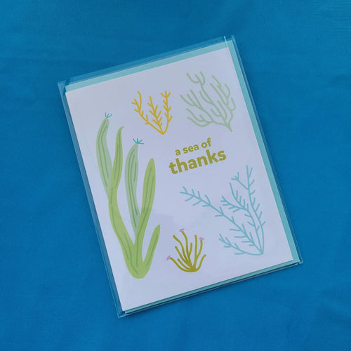 Sea of Thanks Card