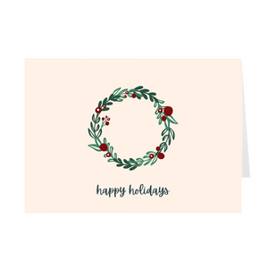 Holiday Wreath Card - Quick Ship